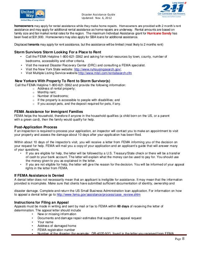 Fema Appeal Letter Template Template Library